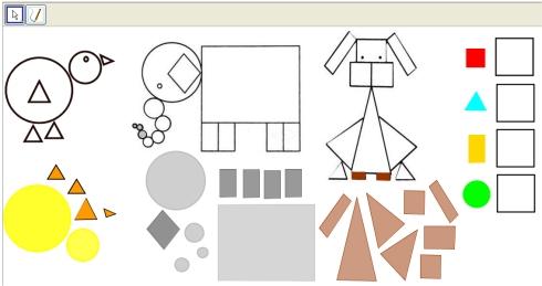 Animales Geométricos Matematicinfantil