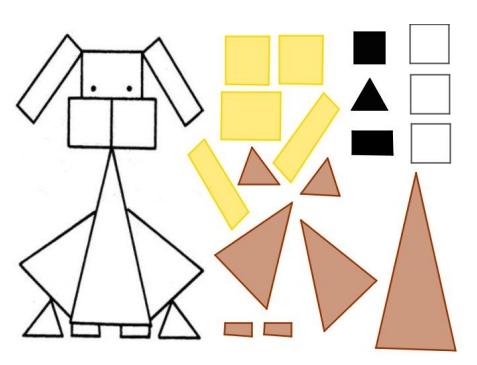 Puzzle De Perrito Matematicinfantil